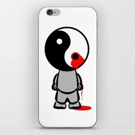 Yin Yang Heart iPhone Skin