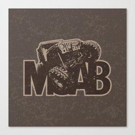 Moab Off-road Canvas Print