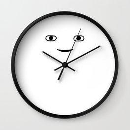 Hi Stranger Face Wall Clock