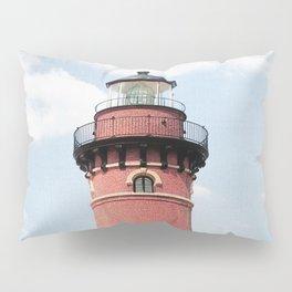 Red Lighthouse Pillow Sham