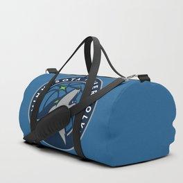 MinnesotaTimberwolves Logo Duffle Bag