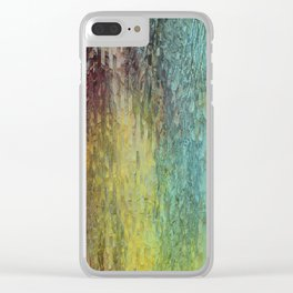 Pine bark Clear iPhone Case