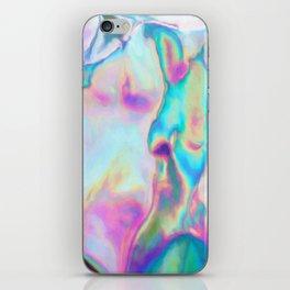 Iridescence - Rainbow Abstract iPhone Skin