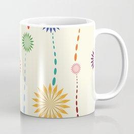 Colored floral design Coffee Mug