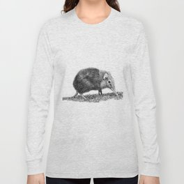 Black Shrew Long Sleeve T-shirt