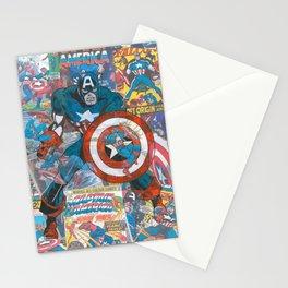 The American Superhero - Comic Art Stationery Cards