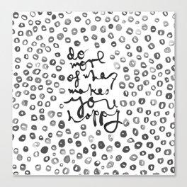 Happy Spots Canvas Print