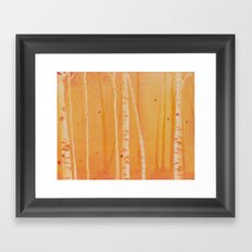 The Heat of Autumn Framed Art Print