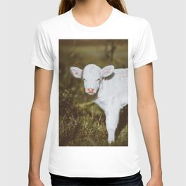 White Calf (Color) T-shirt