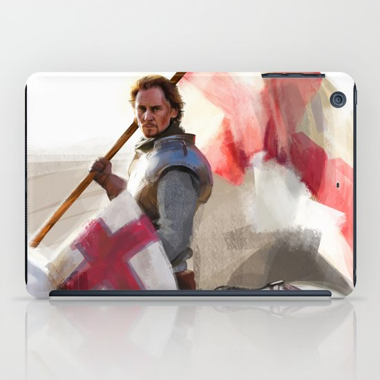 """Once More unto the Breach"" iPad Case"