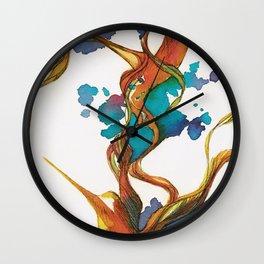 Vuelo de colibrí. 1 Wall Clock
