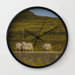 Sheep Ahoy Wall Clock