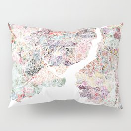 Istanbul map Pillow Sham