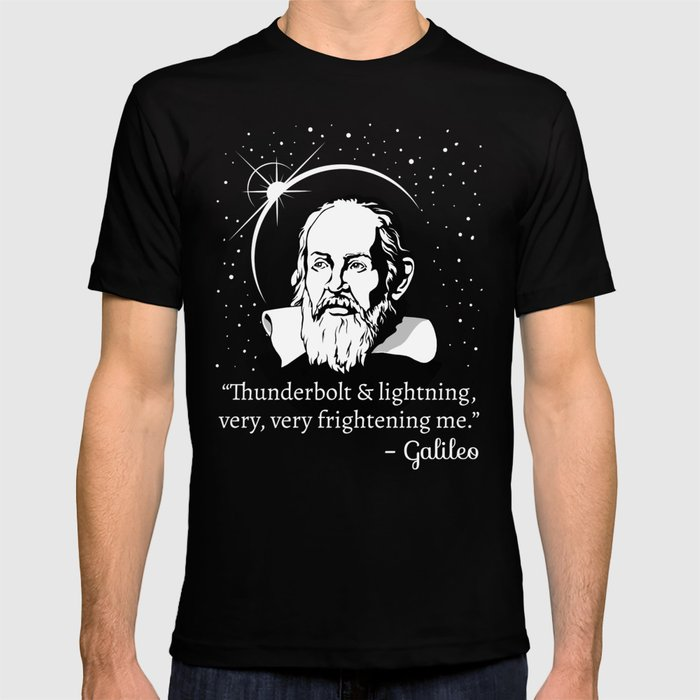 4addf4240 Thunderbolt and Lightning Galileo Graphic T-shirt by cottonklub ...