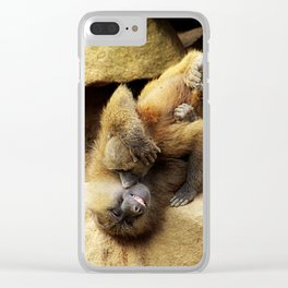 When You Smile Clear iPhone Case