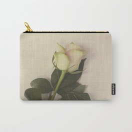 Dusky pink rose Carry-All Pouch