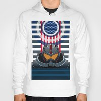 pacific rim Hoodies featuring Pacific Rim v2 by milanova