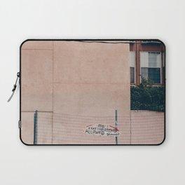 no skateboarding Laptop Sleeve