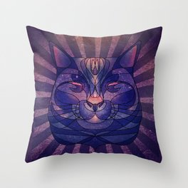 The Cosmic Bear Throw Pillow