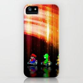 Super Mario Kart - Pixel art iPhone Case