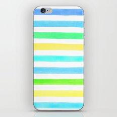 Cold stripes iPhone & iPod Skin