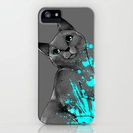 Russian Blue iPhone Case