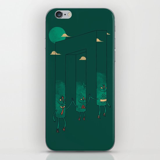 The Belvederes iPhone & iPod Skin