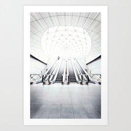 Triangeln Art Print