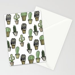 Cactus and Owl Stationery Cards