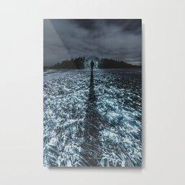 On Crystal Lake Metal Print