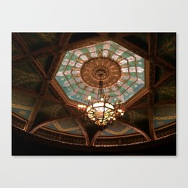 Theatre ceiling Canvas Print