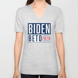 Biden Beto 2020! Unisex V-Neck