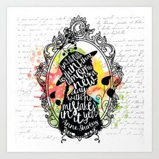 Anne Shirley - Tomorrow Art Print