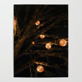 lit up for Christmas Poster