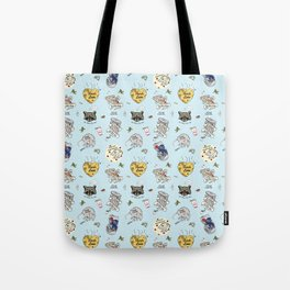 Trash Love Tote Bag