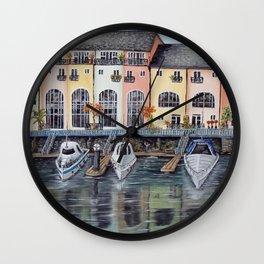 Penarth Marina Wall Clock