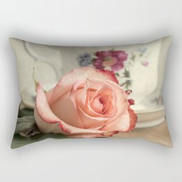 Have a cup of tea, please Rectangular Pillow