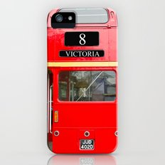 Red London Bus Slim Case iPhone (5, 5s)