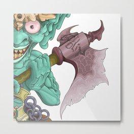 The Goblin Metal Print