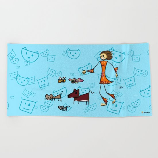 Friends Beach Towel