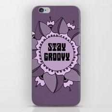 Stay Groovy Boho Mandala iPhone Skin