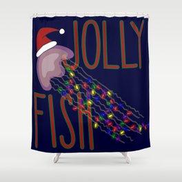Jolly Fish Shower Curtain