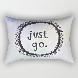 puerta project: just go  Rectangular Pillow