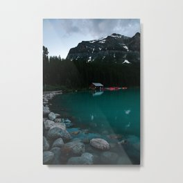 Wade into the Waters Metal Print