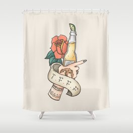 Thank F*** For Fridays Shower Curtain