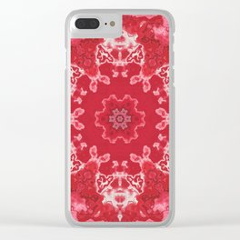 Queen Crimson Clear iPhone Case