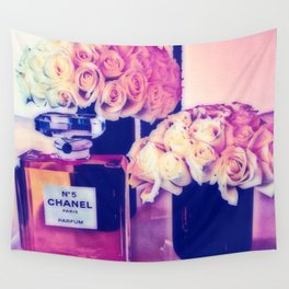 CHANELNo. 5 in Color Wall Tapestry