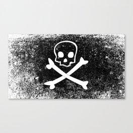 Jolly Roger Canvas Print