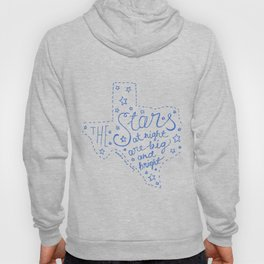 Stars at Night in blue Hoody