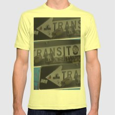 trans trans transito Lemon Mens Fitted Tee SMALL